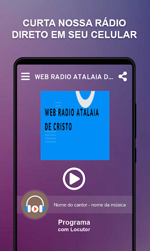 WEB RADIO ATALAIA DE CRISTO screenshot 1