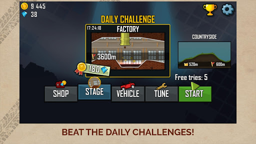 Hill Climb Racing screenshot 5