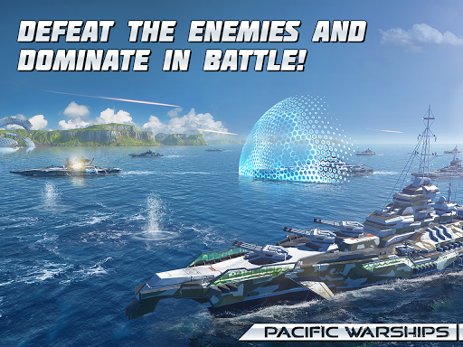 Pacific Warships screenshot 12