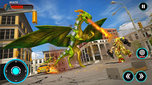 Deadly Flying Dragon Attack 屏幕截图 1