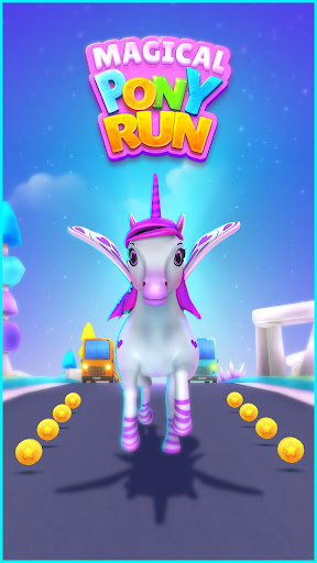 Magical Pony Run screenshot 1