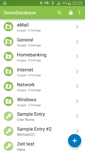 Keepass2Android 屏幕截图 1