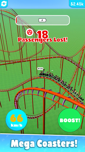 Hyper Roller Coaster screenshot 1