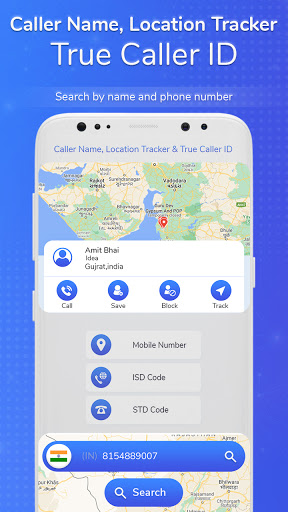 Caller Name, Location Tracker & True Caller ID screenshot 1