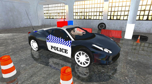 Spooky Police Car Parking Games screenshot 9