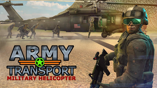Real Army Helicopter Simulator Transport Games screenshot 1