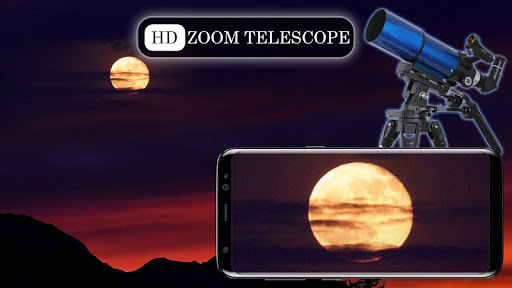 Mega Zoom Telescope HD Camera screenshot 1