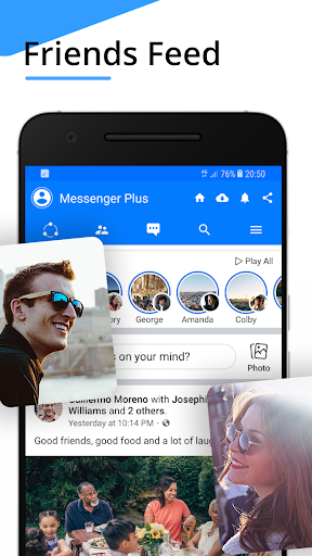 Messenger Pro for Messages, Video Chat for free screenshot 4
