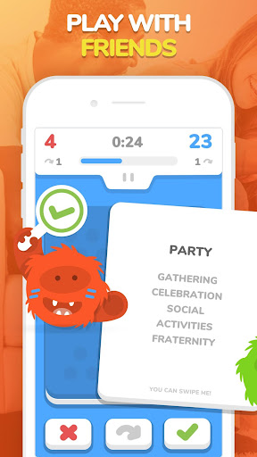 eTABU - Social Game - Party with taboo cards! screenshot 1