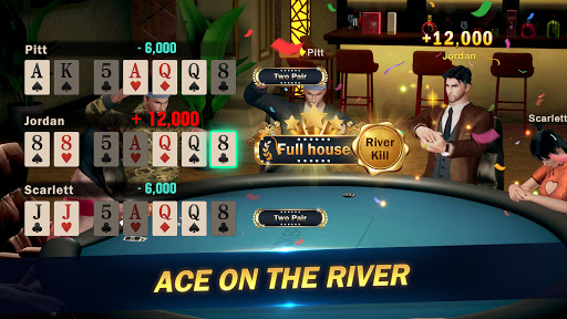 Hi Poker 3D:Texas Holdem screenshot 1
