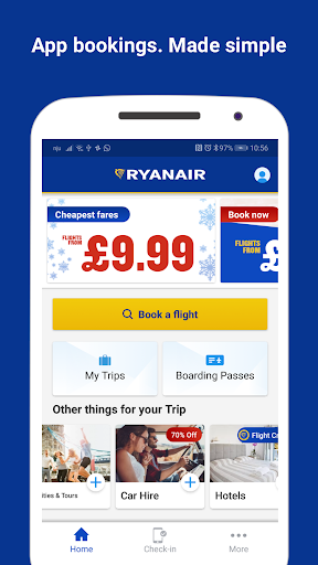 Ryanair - Cheapest Fares screenshot 1