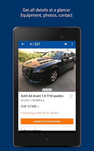 AutoScout24 Switzerland - Find your new car screenshot 17