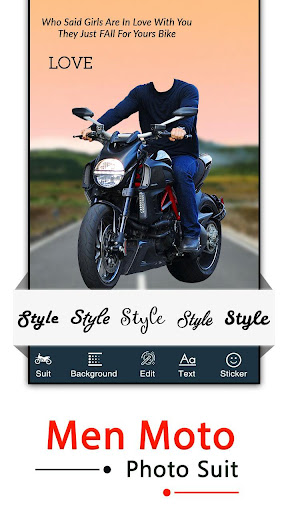 Bike Photo Editor - Bike Photo Frame screenshot 5