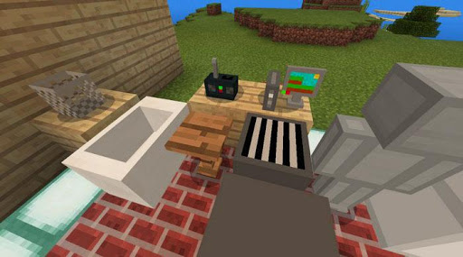 Decorations and Furniture Mod for Minecraft PE tangkapan layar 2