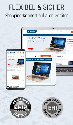CYBERPORT Elektronik, Technik & Deals Shopping App screenshot 5
