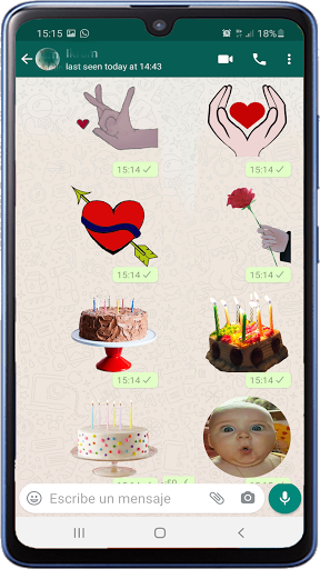 Memes with phrases Spanish Stickers WAStickerApps screenshot 9