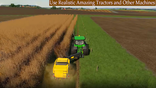 New Thresher Tractor Farming 2021-New Tractor Game screenshot 1