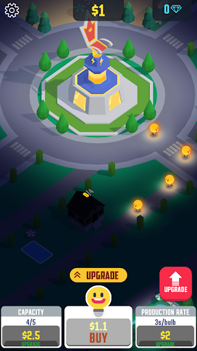 Idle Light City screenshot 2