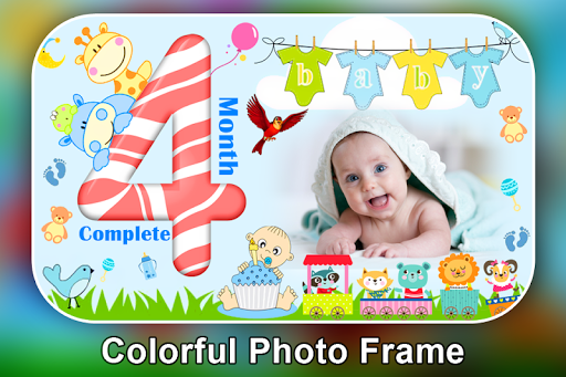 Baby Month Complete Photo Frame screenshot 7