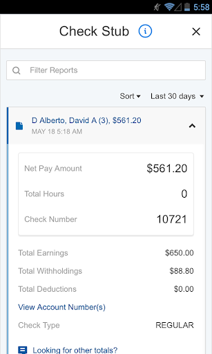 Paychex Flex screenshot 2