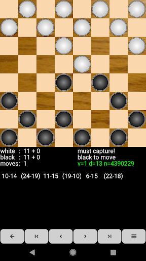 Checkers for Android screenshot 2