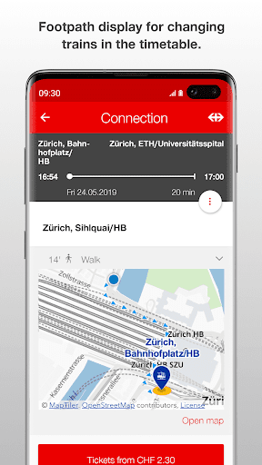 SBB Mobile screenshot 4