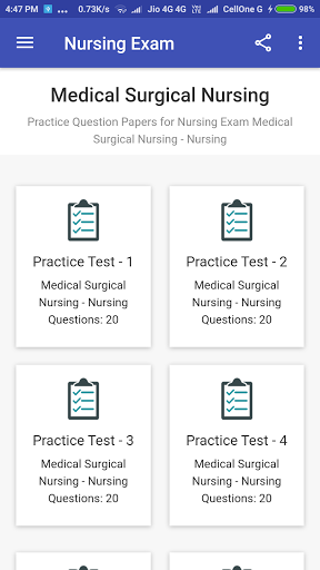 Staff Nurse Exam screenshot 1