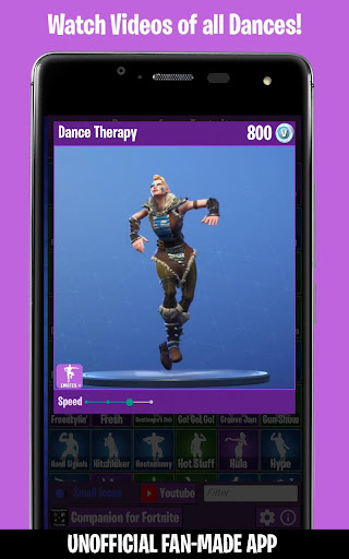 Dances from Fortnite (Emotes, Shop, Wallpapers) screenshot 2
