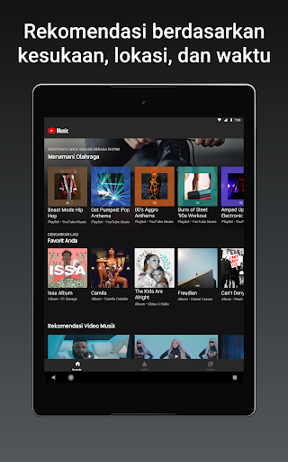 YouTube Music - Streaming Lagu & Video Musik tangkapan layar 7