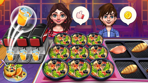 Cook n Travel: Cooking Games Craze Madness of Food screenshot 2