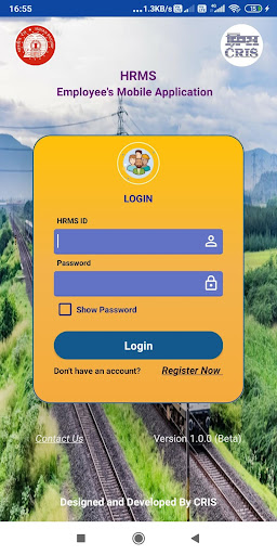 HRMS Employee Mobile App for Indian Railways screenshot 2