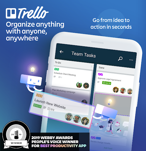 Trello screenshot 1