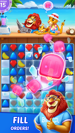 Candy Puzzlejoy screenshot 2