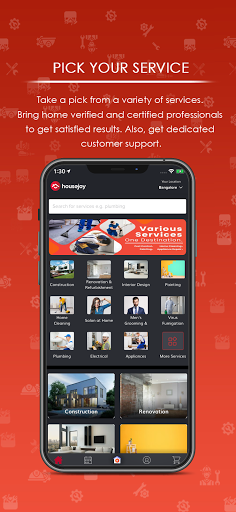 Housejoy-Trusted Home Services screenshot 2