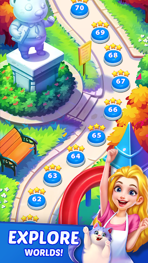 Candy Puzzlejoy screenshot 5