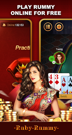 Ruby Rummy-Indian Online Free Card Game screenshot 3