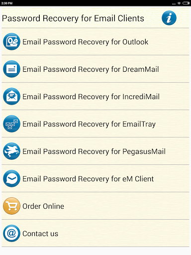 Email Password Recovery Help screenshot 8