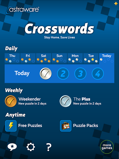 Astraware Crosswords screenshot 9