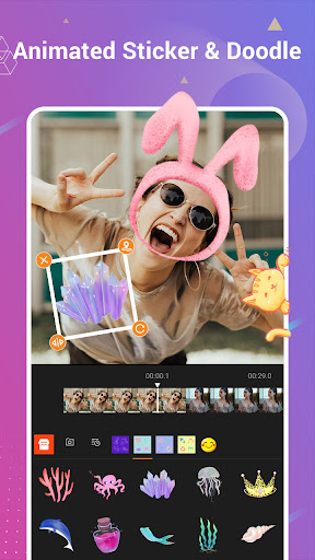 Video Editor with Song Clipvue screenshot 2
