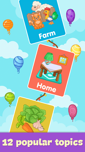 Baby flash cards for toddlers screenshot 4