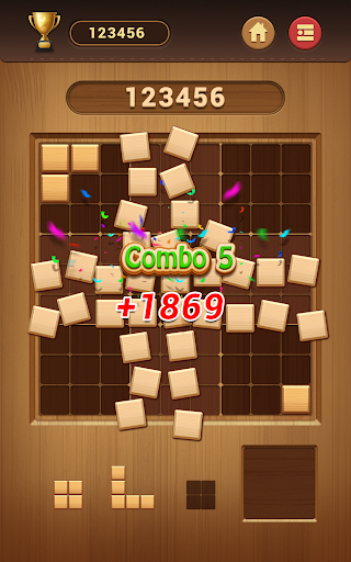 Wood Block Sudoku Game -Classic Free Brain Puzzle screenshot 22