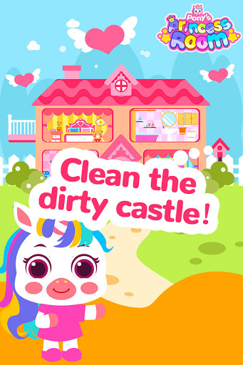 Pony Princess Room-Baby House Cleanup For Girls screenshot 1