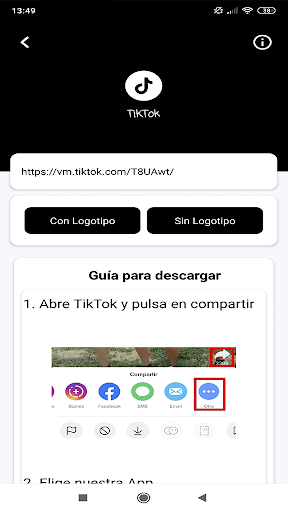 Download videos, images and statuses screenshot 4