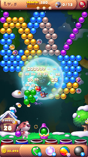 Bubble Bird Rescue 2 - Shoot! screenshot 5