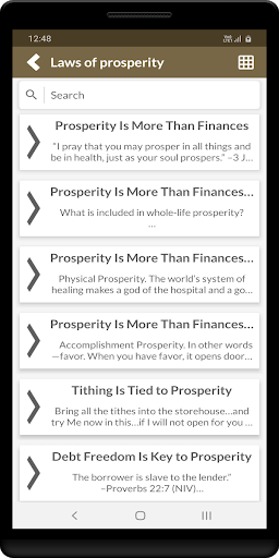 Laws of prosperity screenshot 3
