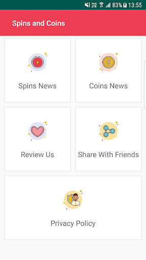 Daily Spins and Coin screenshot 1