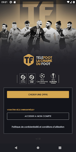 TELEFOOT LA CHAINE DU FOOT screenshot 1
