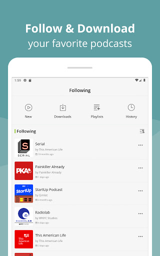 Podcast App & Podcast Player - Podbean screenshot 9