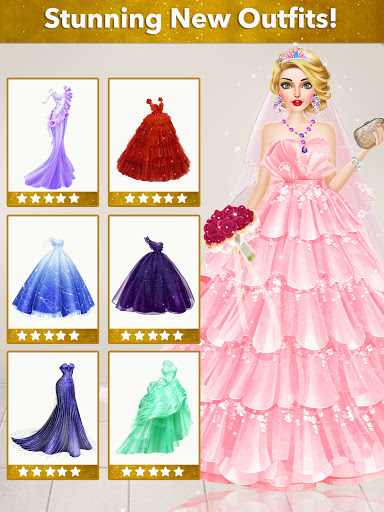Fashion Wedding Dress Up Designer screenshot 17