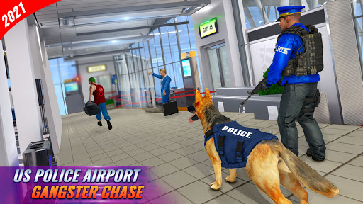 Police Dog Airport Crime Chase screenshot 8